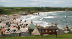 Cullen (M McBey) Tags: cullen moray scotland coast village town waves view houses grampian