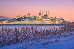 _DSC2590 - The Kazan Kremlin (AlexDROP) Tags: 2019 europe kazan tatarstan russia kremlin art travel architecture tower color winter cityscape landscape nikond750 afsnikkor28300mmf3556gedvr best iconic famous mustsee picturesque postcard bluehour