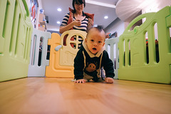 DSCF1111 (Brian HCH) Tags: xt1 fujifilm brianhuang 小黃金 寶寶 寶貝兒子 baby dd golden 鞋子 亞瑟士 asics suku2 first
