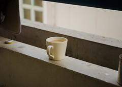 Coffee Break (Ivory Black Photography) Tags: coffee cup break breezy