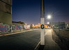 G is for.... (Andrew_Dempster) Tags: night stobiepole nightshot industrial australia stobie graffiti longexposure southaustralia sa urban road streetlight nightscape kilkenny nightphotography stobieart adelaide au