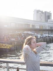 Laura, Rotterdam 2019: Enjoying the sun (mdiepraam (35 mln views)) Tags: laura rotterdam 2019 portrait pretty attractive beautiful elegant classy gorgeous dutch blonde girl woman lady naturalglamour rijnhavenbrug bridge backlight fenixfoodfactory