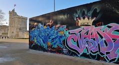 Graffiti La Rochelle, le Gabut (thierry llansades) Tags: graf graff graffiti graffitis graffs grafs frechgraff frenchgraff spray aerosol painting bombing mur wall peinture fresque larochelle legabut gabut art urbanart urban girl femme sexy tou tour teen