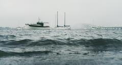 Narragansett Bay (8230This&That) Tags: narragansettbay claibornepellbridge newportbridge bay boats boatsonthebay bridge baycrossing newport newportri rhodeisland fineartphotography newengland coastalnewengland coastalrhodeisland ri