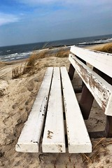 Ostseeküste (_opalicon_) Tags: blau ausblick natur bank horizont meer