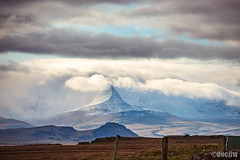Ain't No Mountain (docjfw) Tags: landscape iceland snowcapped mountain