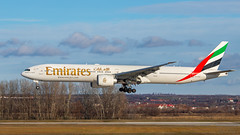 Emi... (keriarpi) Tags: lhbp bud ferihegy spotter spotting spotterdomb domb jet airplane aircraft plane airline airlines cockpit sky livery grass tree forest a6egx boeing 77731her emirates 777
