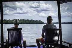 Destination parc de Tanjung Puting (imagene74) Tags: bâteau forêt bornèo indonèsie rivière jungle groupenuagesetciel