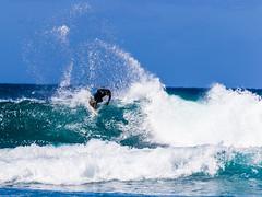 Surfing USA (LionArt1970) Tags: surfer hawaii maui waves water blue aqua canon vacation