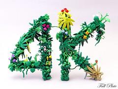 4K (Emil Lidé) Tags: lego moc 4k instragram followers milestone
