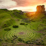 Fairy Glen sunset
