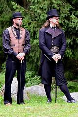 Steampunk 5 (Axel Khan) Tags: steampunk mann bart kostüm fantasie historisch hut man beard costume fantasy historical hat