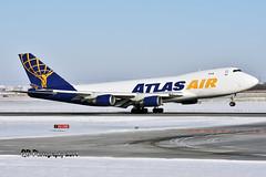 N475MC Atlas Air Boeing 747-47U(F) DSC_4926 (Ron Kube Photography) Tags: aircraft plane flight airliner nikon d7200 nikond7200 ronkubephotography yyc calgary calgaryinternationalairport boeing74747uf n475mc atlasair