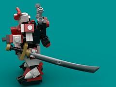 Anti-Everything Sword (The Hydromancer) Tags: lego gundam seed sword katana space micro scifi mfz mobile frame zero suit mech astray red