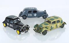 FFI Citroens (adrianz toyz) Tags: citroen traction avant ta diecast toy model car 143 scale adrianztoyz ffi france editions atlas solido