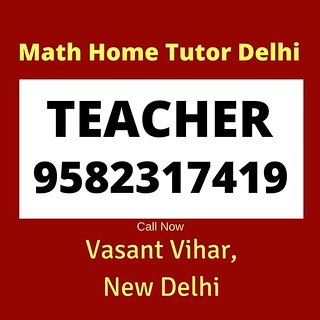 Maths Tutor in South Delhi. Call Now: 9582317419. Since 2007. Result Oriented. Affordable Fee. 😀 😀 😀 #VasantVihar #Kalkaji #CRPark #HauzKhasVillage #delhigram #Delhi #SouthDelhi #HauzKhas #Saket #VasantKunj #GreaterKailash #Math