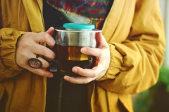 Calm Yellow (amuna_caty) Tags: tea teatime table time yellow yum photo photography photograph photographer picture canon color colors cup clear cups nice teabad texture