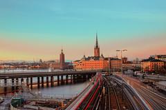 Fim de tarde Estocolmo/Suécia (Saan Martins) Tags: sunsetphoto sunsetphotography scandinavia stockholm travelphotography longexposurecolors longexposurephotography