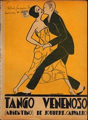 TANGO VENENOSO (Rare Comic Experts 43yrs of experience) Tags: komickaziofficial revista artdeco artnoveau parisart tango sheetmusic skyeboy skyeott