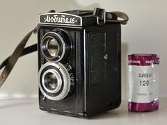 Lubitel I 120 6x6 (wellandok) Tags: 6x6 1951 voigtländer brillant 1938 120 film lubitel