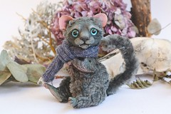 OOAK Collection Artdoll Gray lion toy (firexia) Tags: artdoll arttoy art dolls toy handmade handmadedoll customdoll lion tiger livingdoll dollmaker craft graycat cats collection collectors etsy drawing