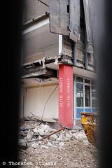 Abriss des DGB Hauses in Berlin (tsreportage) Tags: abriss arbeit bagger baustelle berlin dgb gewerkschaft gewerkschaftsbund keithstrasse neubau schoeneberg constructionsite demolition union work germany de
