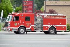 Everett Fire Department (Martijn Groen) Tags: everett washington unitedstates usa june 2018 firedepartment firetruck fireengine emergency vehicle rosenbauer rosenbauercommander commander engine