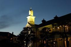 Nagasaki (Teruhide Tomori) Tags: 長崎 出島 教会 日本 西洋文化 夜 night 九州 建物 architecture nagasaki culture japan japon kyusyu light building construction woodenhouse