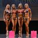 Bikini Grandmasters 4th Kiener 2nd Plemic 1st Singleton 3rd Johnson