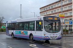 First MX06VOG (Mike McNiven) Tags: first manchester bolton depot wright eclipse volvo withins circular interchange greatmoorstreet