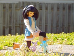 First Encounter (Forest_Daughter) Tags: fairyland cupid multihead azone pure neemo doll hybrid