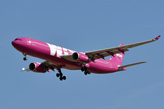 EC-MIN  CDG (airlines470) Tags: msn 1607 a330343e a330 a330300 wow air cdg airport ex europa as ecmin tfluv now stored since 112018 at lde
