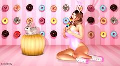 Sweet Candy ^^ (Fotini Baily (Blogger-Photographer)) Tags: hypnose salacity jian foxcity sl slblog slfashion slfashionblog slnew slevent slblogger secondlife secondlifeblog fotinibaily maitreya catwa bento slbunny easter candy donuts