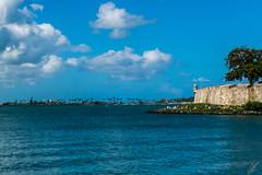 Murallas Viejo San Juan, Puerto Rico (carlosbenju) Tags: nature naturaleza agua azul muralla camino mar walls viejosanjuan puertorico sea arbol tree ciudad city arquitectura architecture
