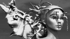 The Beauty of It All (tralala.loordes) Tags: secondlife sl slfashionblogging slblogging tralalaloordes tralala tra flickrblogging flickrart virtualreality virtualphotography vr art artistic artisticblogging miamai leslames curelessamore surrealisme warqueen battlefairy crown monotone tears