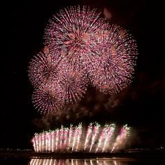 長岡まつり大花火2018 Fireworks in Nagaoka Festival 2018 (ELCAN KE-7A) Tags: 日本 japan 新潟 niigata 長岡 nagaoka 信濃川 shinano river 花火 fireworks ペンタックス pentax k3ⅱ 2018