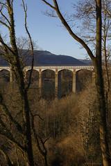 The Pontcysyllte Aqueduct (Explore 05/02/19 #11) (andyrousephotography) Tags: pontcysyllte aqueduct llangollencanal riverdee wales civilengineer thomastelford wintersun trees sunlight warmth viewpoint framed