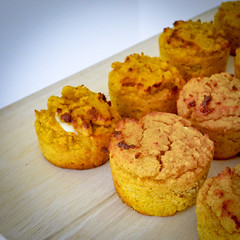 2019.02.08 Low Carbohydrate, Healthy Fat Pumpkin Muffins with Cream Cheese Filling, Washington, DC USA 09737
