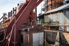 Sloss Furnace Complex (jeff_a_goldberg) Tags: blastfurnace pigiron iron slossfurnaces alabama nationalhistoriclandmark redclaytours industrialrevolution birmingham unitedstatesofamerica us