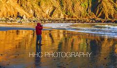 Golden moment at Pfeiffer Beach (HelenC2008) Tags: bigsur pfeifferbeach highway1 pacificcoast californiacoast sunset goldenmoment d850 nikon
