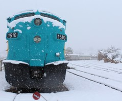 Snow day in the Verde Valley, Feb 2019 (Verde Canyon Railroad) Tags: snow snowmaggedon2019 winterinarizona az weather february2019 verdecanyonrailroad arizona verdevalley