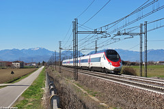 SBB ETR 610. Grisignano di Zocco (Ivan Furlanis) Tags: treno train zug ferrovia bahn eisenbahn rail railway railroad italia italy italien veneto