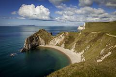 Dorset Coast (FotoFitz3) Tags: dorsetcoast durgaldor coasts uk water sky blue canon