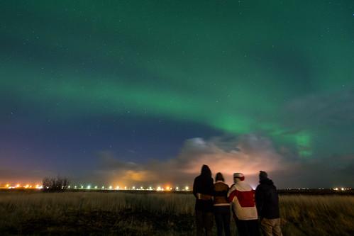Amazing night at Iceland