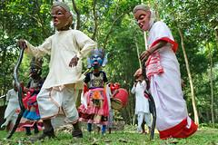 Gomira Mask Dancers of Bengal (pallab seth) Tags: gomiramask artisans dancers bengal india mukhakhel mahisbathan khuniadanga kushmandi craftsmen crafts maskmakers woodenmask ancient ritual tradition maskdance folkart artists animism rituals priest