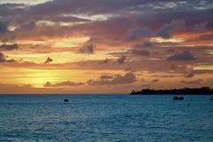 Sunset in Barbados (mikeginn12000) Tags: barbados sunset ocean beach caribbean canon night