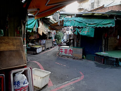 Hsinchu cute streets (Claire Backhouse) Tags: taiwan hsinchu streets lanes alleys morning