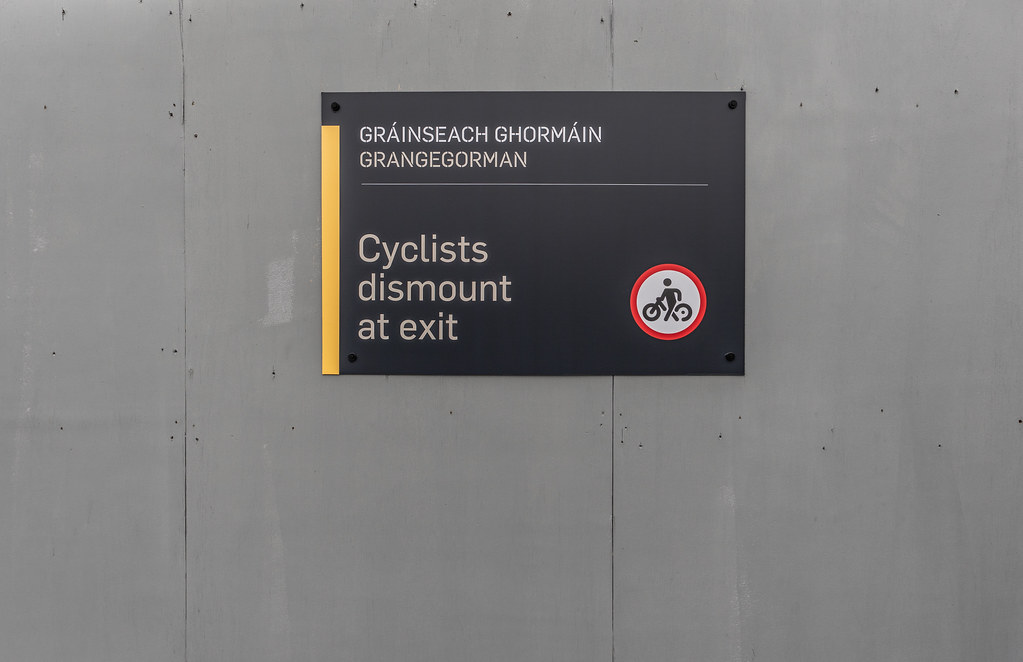 LIMITED ACCESS TO THE GRANGEGORMAN CAMPUS EAST-WEST CYCLE PATH [GRANGEGORMAN STATION AND LUAS TRAM STOP]-147399