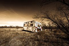 Off the Grid (crowt59) Tags: abandoned trailer off grid clairemont texas lr photomorphis light room crowt59 nikon d850 sigma a 1224mm ultra wide nikonflickraward