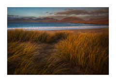 So This Is The New Year (and I don't feel any different) (Vemsteroo) Tags: harris isleofharris isleoflewis outerhebrides beach luskentyre dunes grass sand sea coast mountains hills sunset canon 5d mkiv 1635mm leefilters circularpolariser taransay outdoors exploring scotland